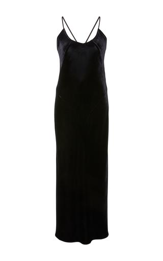 Medium marissa webb black trudy velvet slip dress