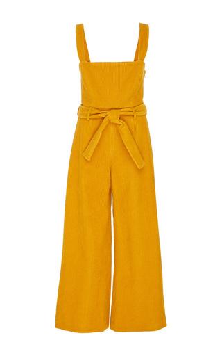 Medium mara hoffman yellow idola corduroy overall