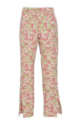 Medium hellessy floral kasmir cigarette pant