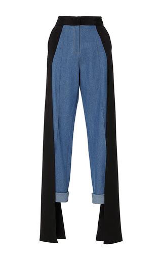 Medium hellessy blue smith cuffed pant