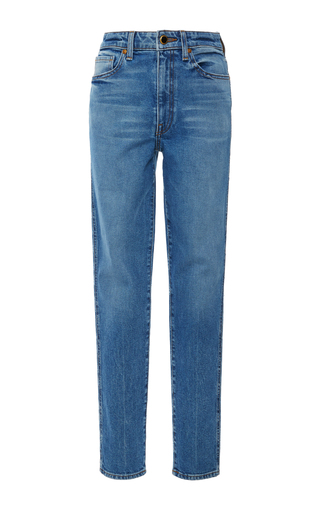 KHAITE | Khaite Vanessa High-Rise Skinny Jeans | Goxip