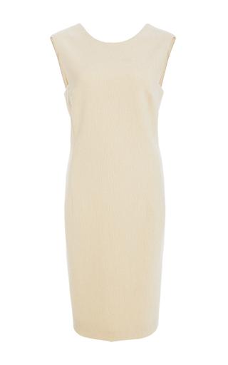 Medium rosetta getty white v back sheath dress 2