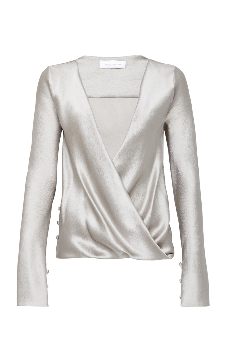 robert draped studio shirt drapes blouse detail products w with rodriguez ivory