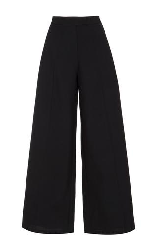 Medium monique lhuillier black cropped pants
