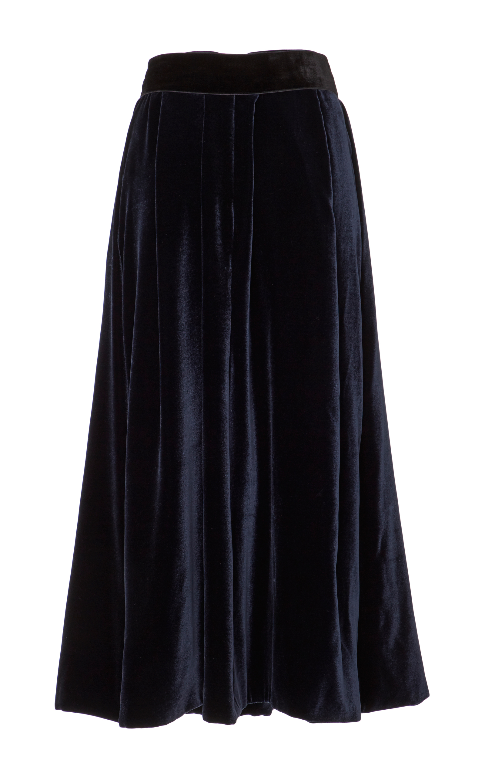 A-Line Velvet Skirt by Monique Lhuillier | Moda Operandi