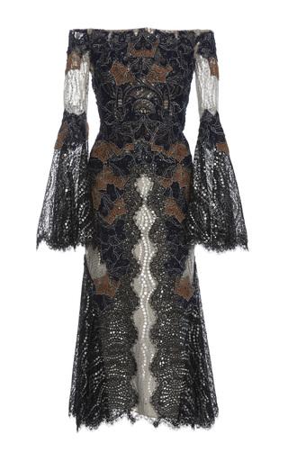 Medium jonathan simkhai multi dimensional lurex dress