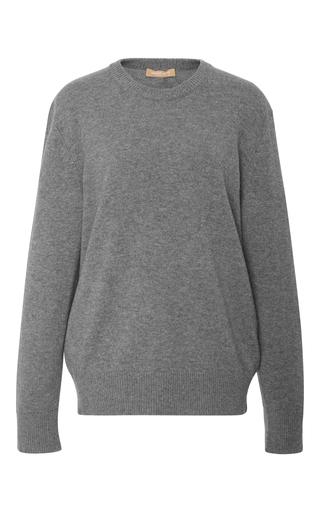 Medium michael kors grey cashmere crewneck top