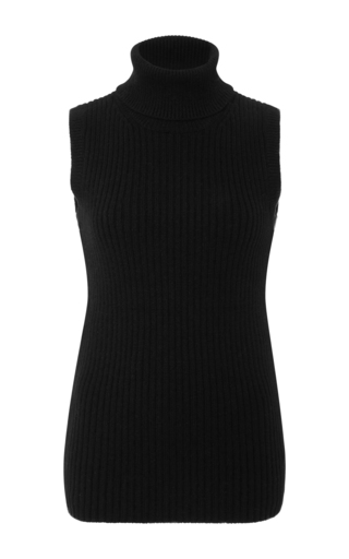 Medium michael kors black cashmere turtleneck pullover