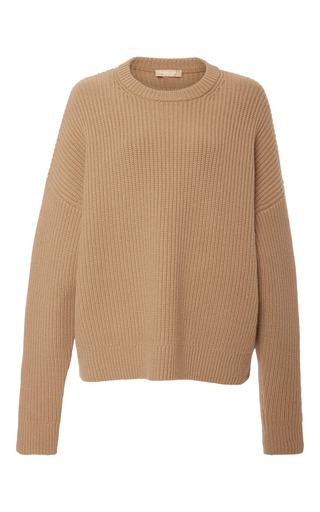Medium michael kors brown cashmere crewneck pullover