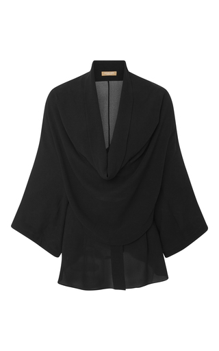 Medium michael kors black cowl neck shirt