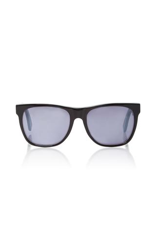 Medium super by retrosuperfuture black classic opaco black acetate sunglasses