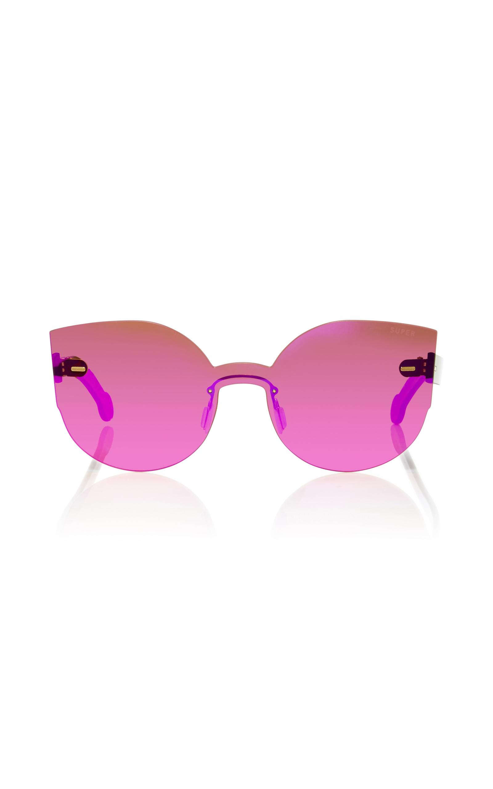 Embellished Lucia sunglasses - Pink & Purple Retro Superfuture wQFsU