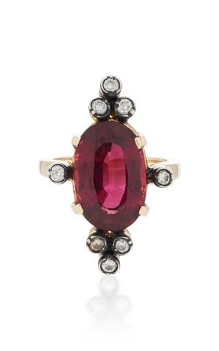 Medium montse esteve pink 18k gold rhodalite ring