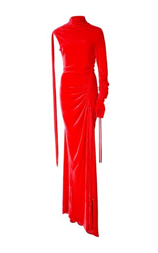 Medium monse red velvet drawstring gown