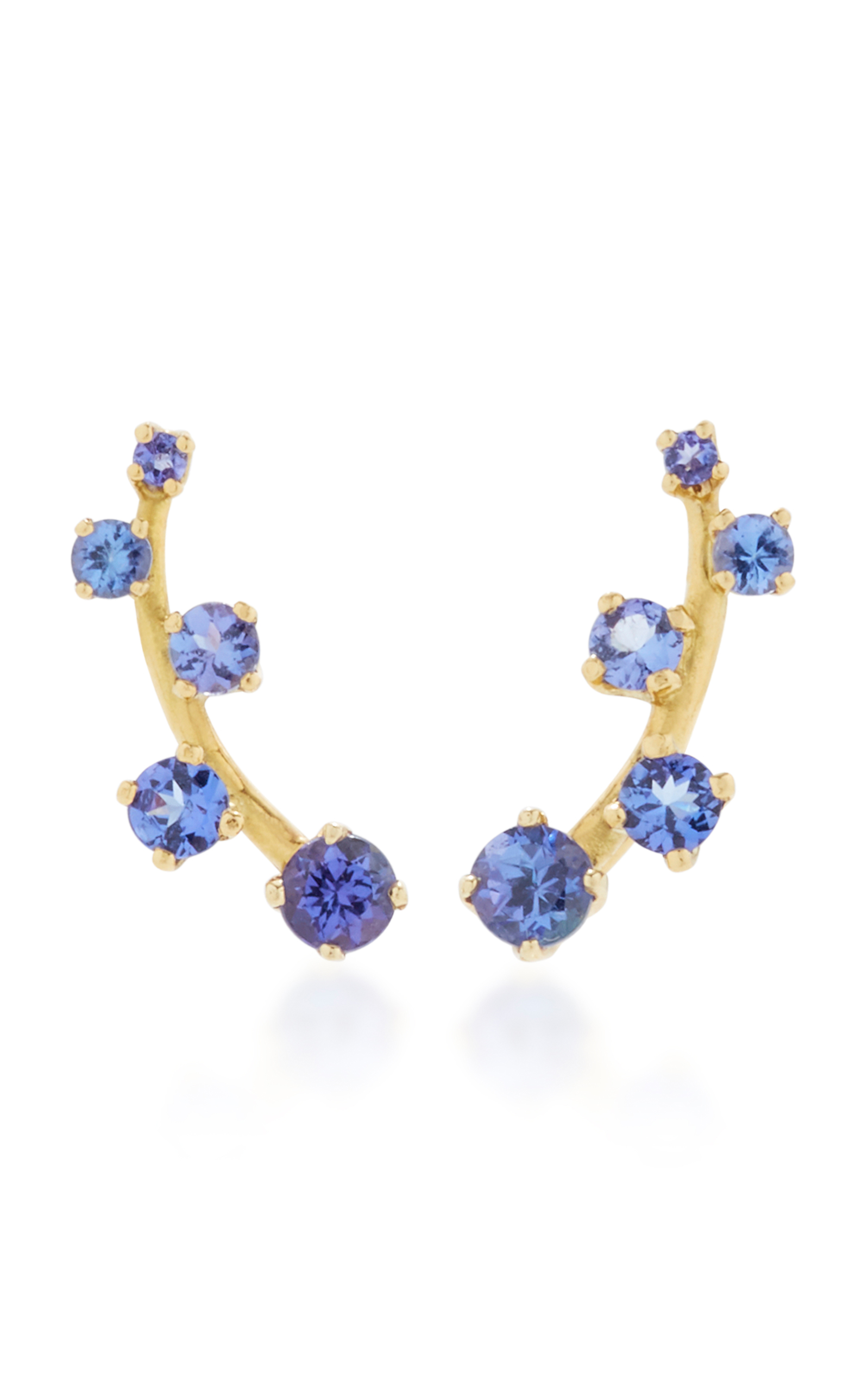 jimmy swarovski jules earrings tanzanite london droplet