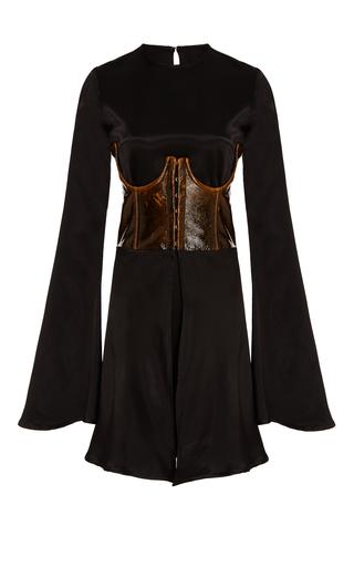 Medium beaufille black gemini mini corset dress