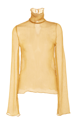 Medium beaufille yellow sheer octans turtleneck
