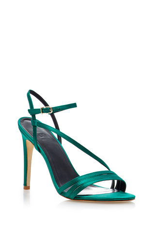 Medium tibi green vivian sandal