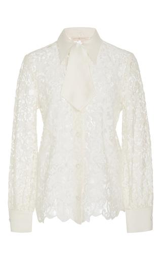 Medium tory burch white rosie classic lace top