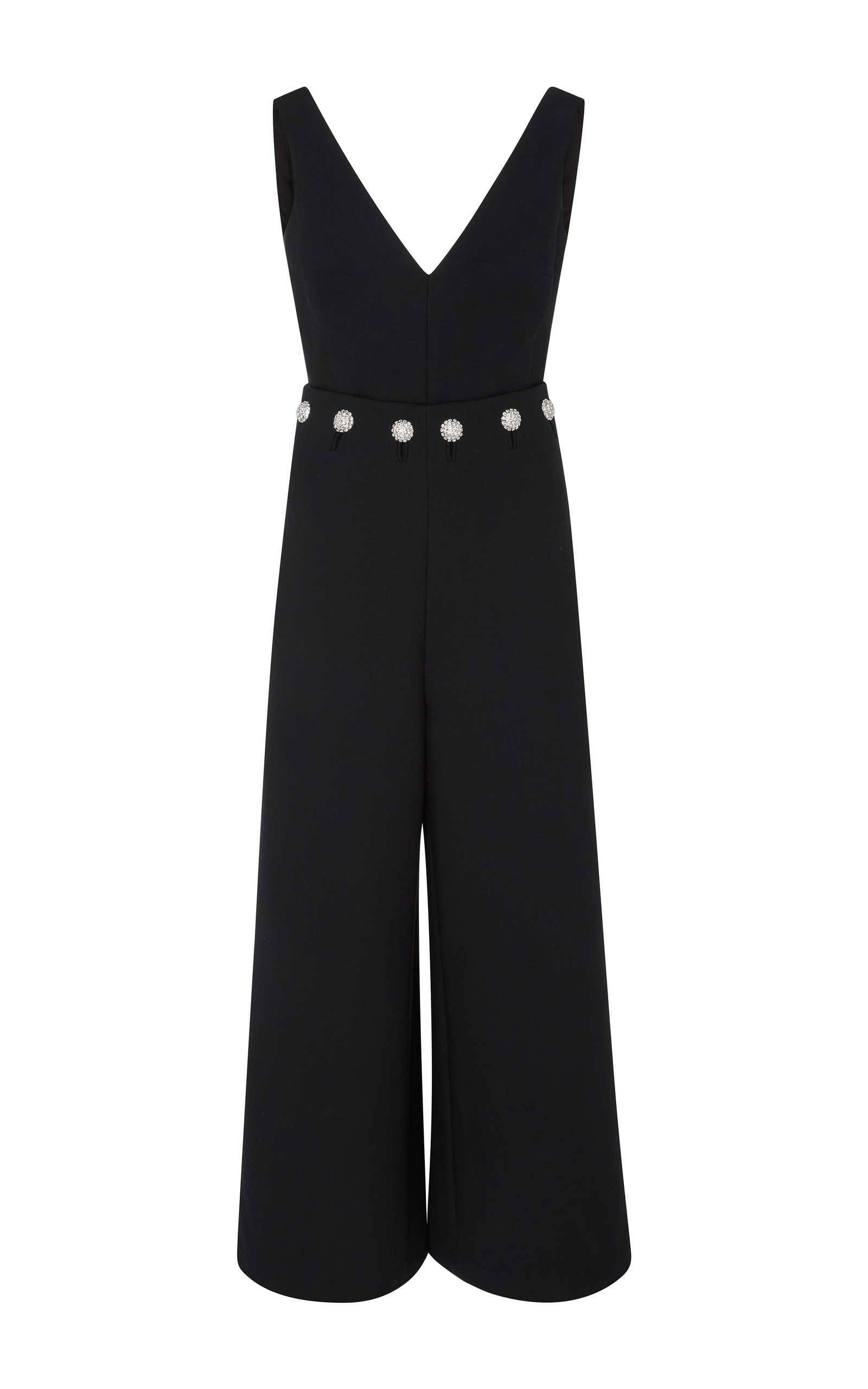 dc0323effc9 Tory BurchFremont Stretch Double Weave Jumpsuit. CLOSE. Loading