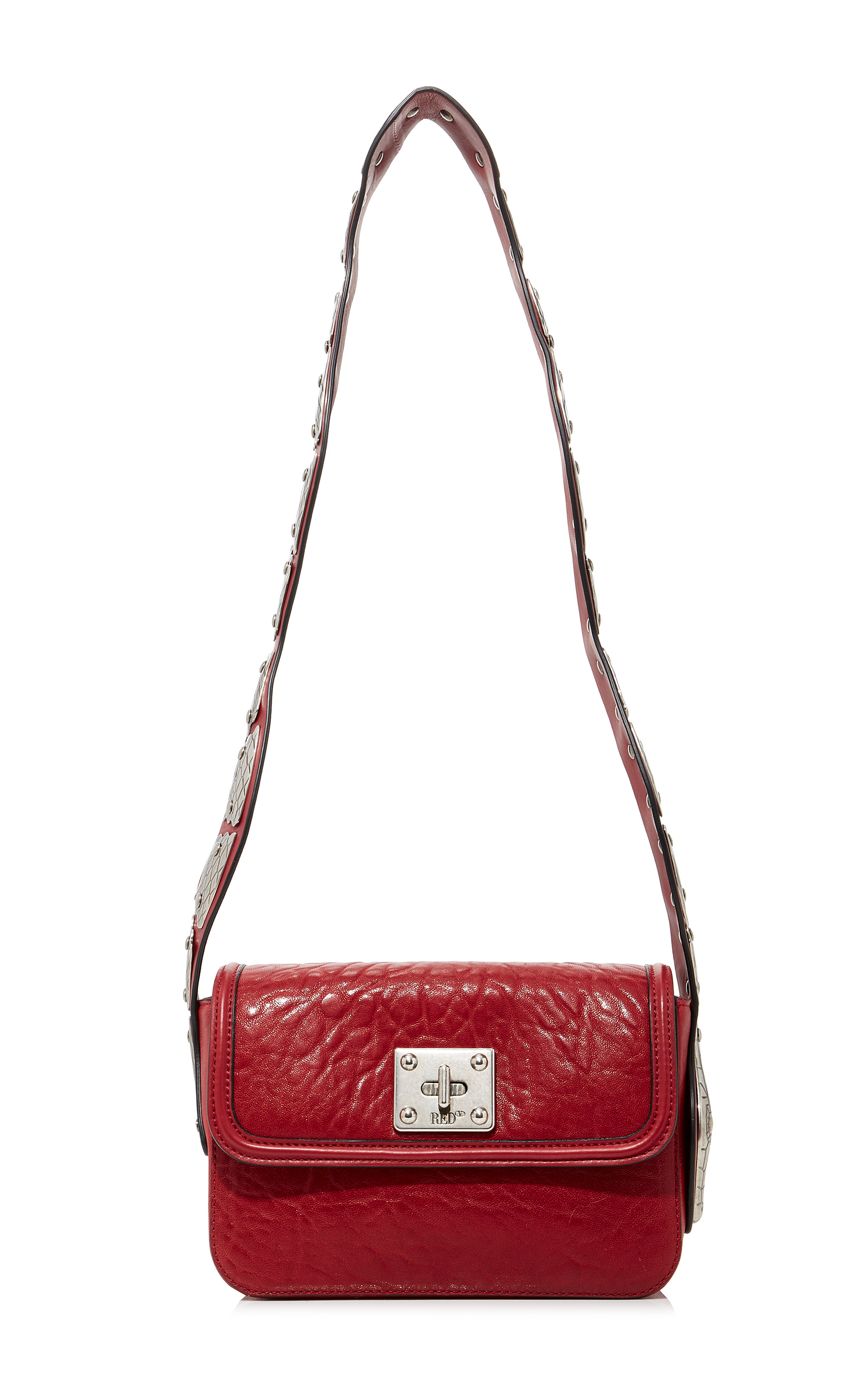 e97296b9a23 Leather Shoulder Bag with Snake by Red Valentino | Moda Operandi