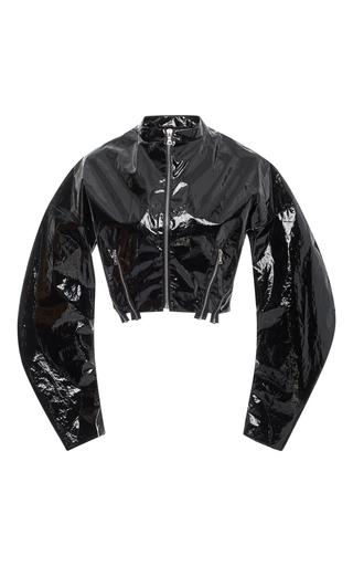 Medium tome black swarovski crystal embellished bomber jacket