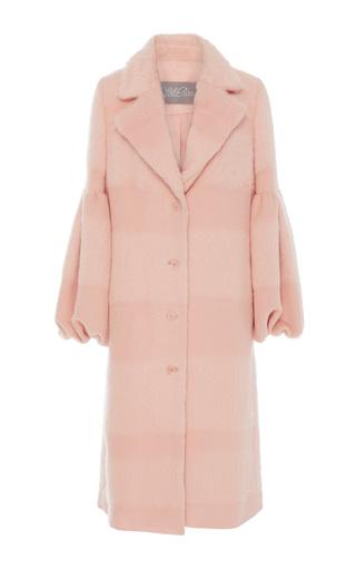 Medium lela rose pink full sleeve mohair coat