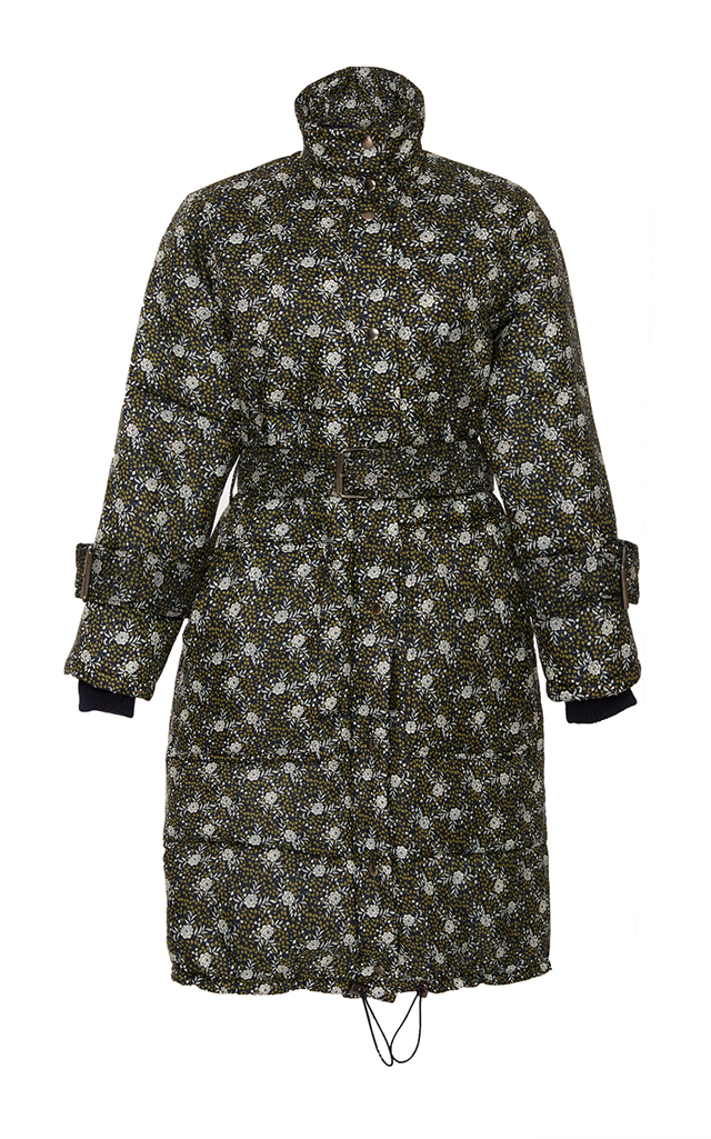 Liberty Floral Puffer Coat
