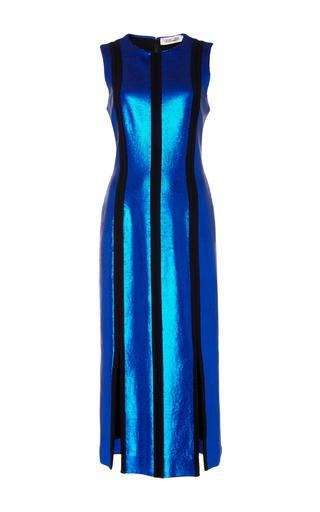 Medium diane von furstenberg stripe sleeveless panel dress