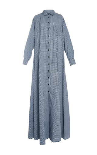 Medium adam selman plaid gingham shirt dress