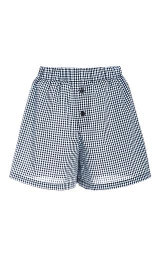 Medium adam selman plaid gingham boxer shorts