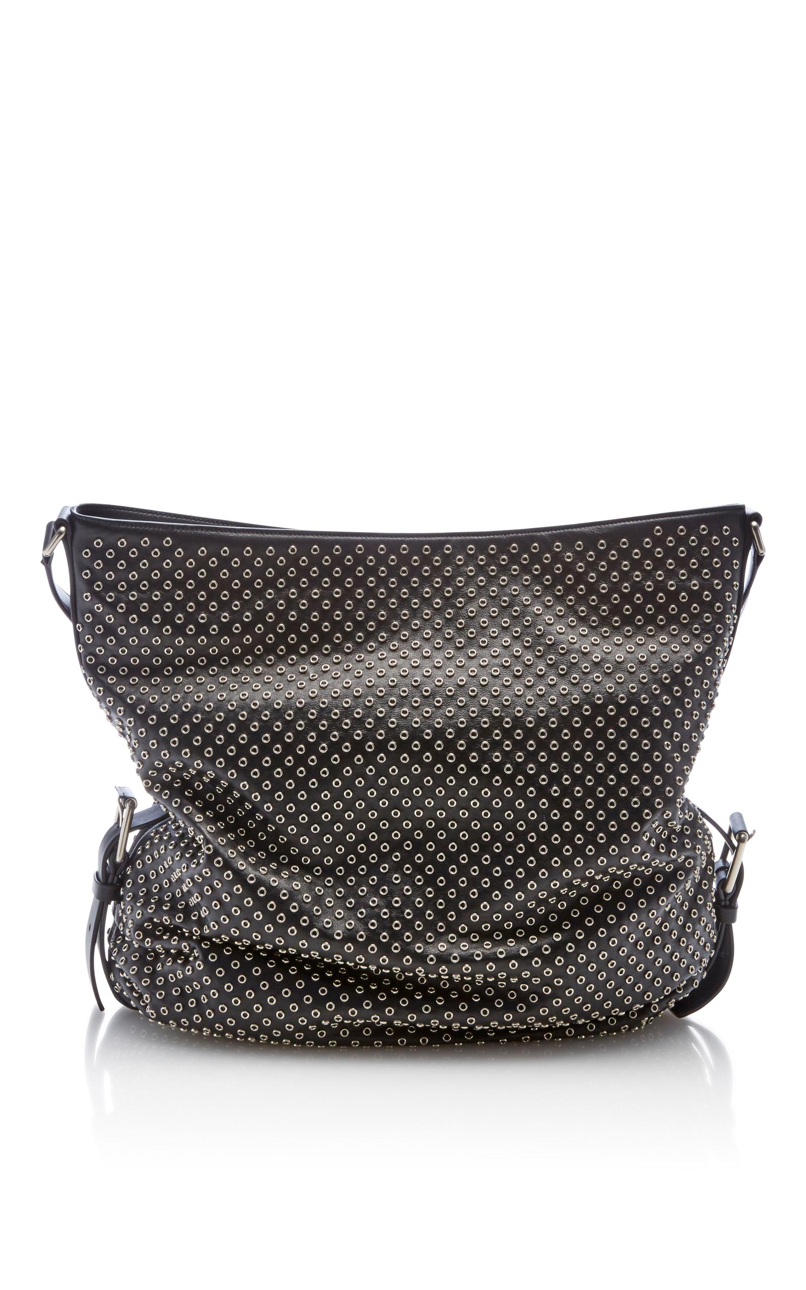 59fe03859364 Michael Kors CollectionLarge Naomi Shoulder Bag with Grommets. CLOSE.  Loading. Loading. Loading. Loading
