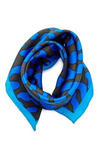 Medium diane von furstenberg blue belmont square scarf