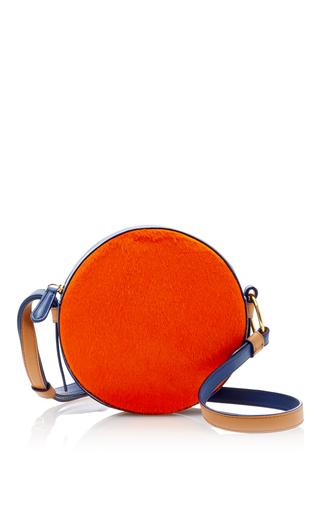Medium diane von furstenberg orange circle bag