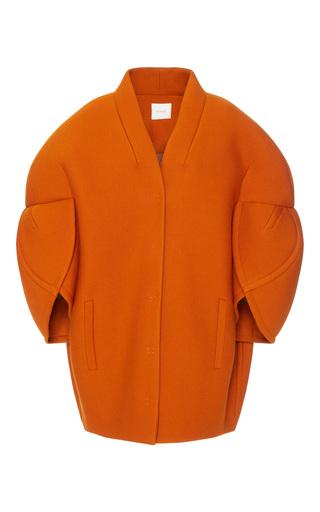 Medium delpozo orange cocoon coat