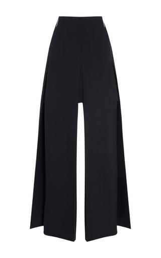 Medium delpozo black skirt with side slits