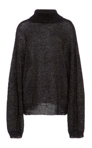 Medium caroline constas black oversized jasper sweater