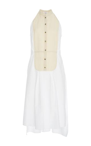 Medium rosie assoulin white button front obi blouse