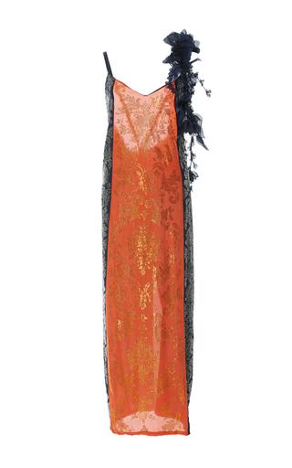 Medium rosie assoulin multi swarovski slip dress
