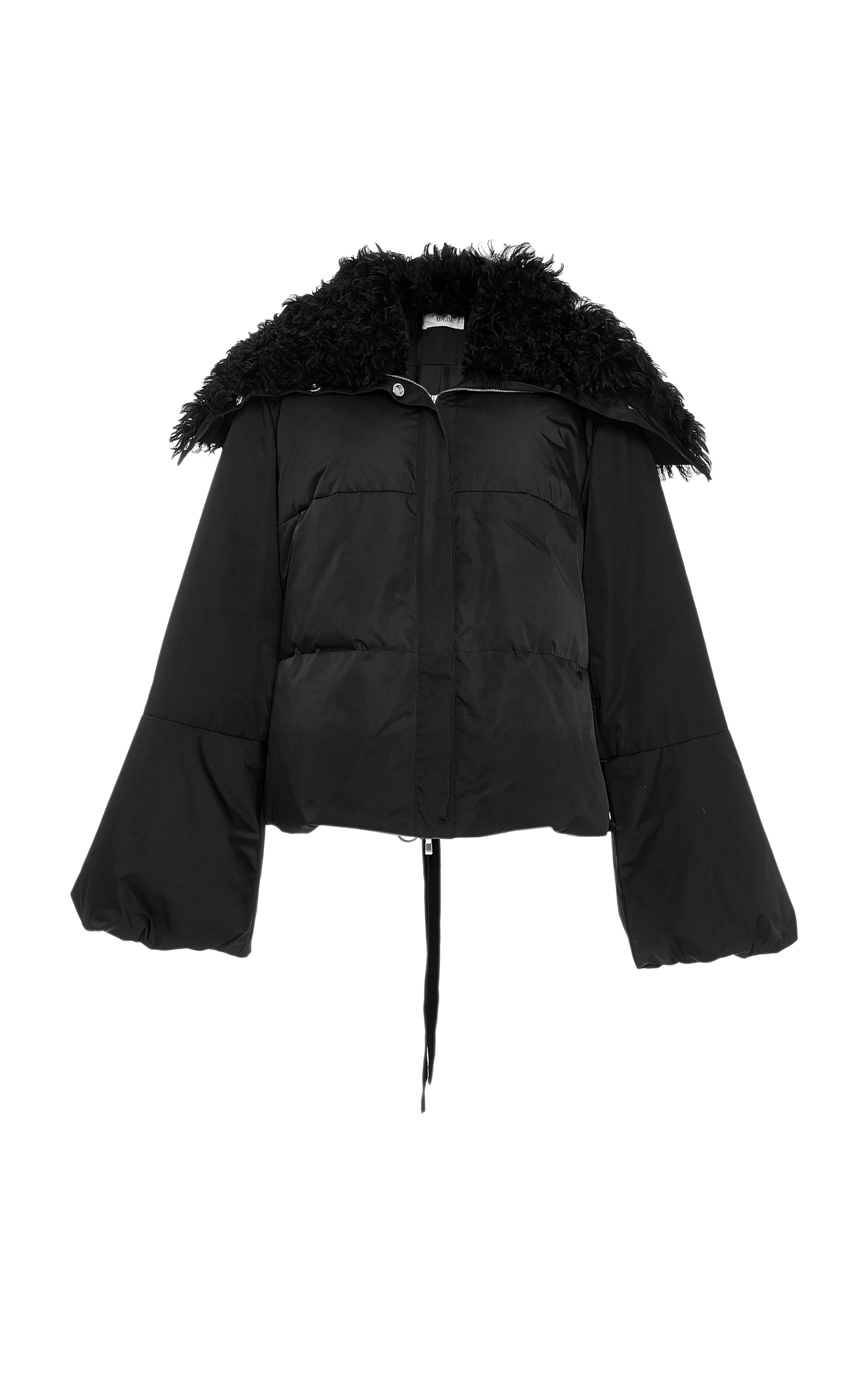 cc79b60050 Shearling Collar Laced Puffer Jacket