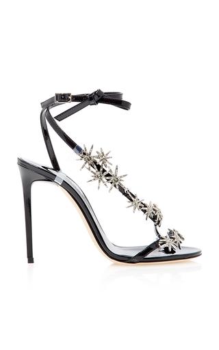 Medium oscar de la renta black romy embellished sandal