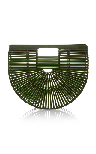 Medium cult gaia green small acrylic ark bag