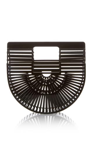 Medium cult gaia black mini acrylic ark bag