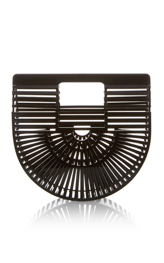 Medium cult gaia black mini acrylic ark bag