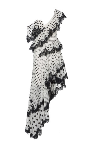 Medium zimmermann print rife dally asymmetrical dress
