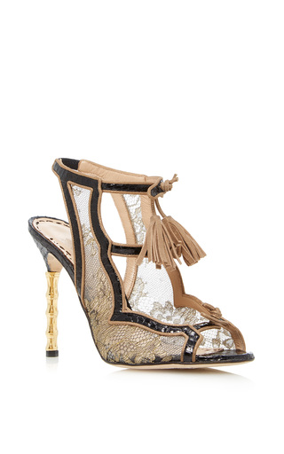 Medium marchesa gold addilyn sandal 2
