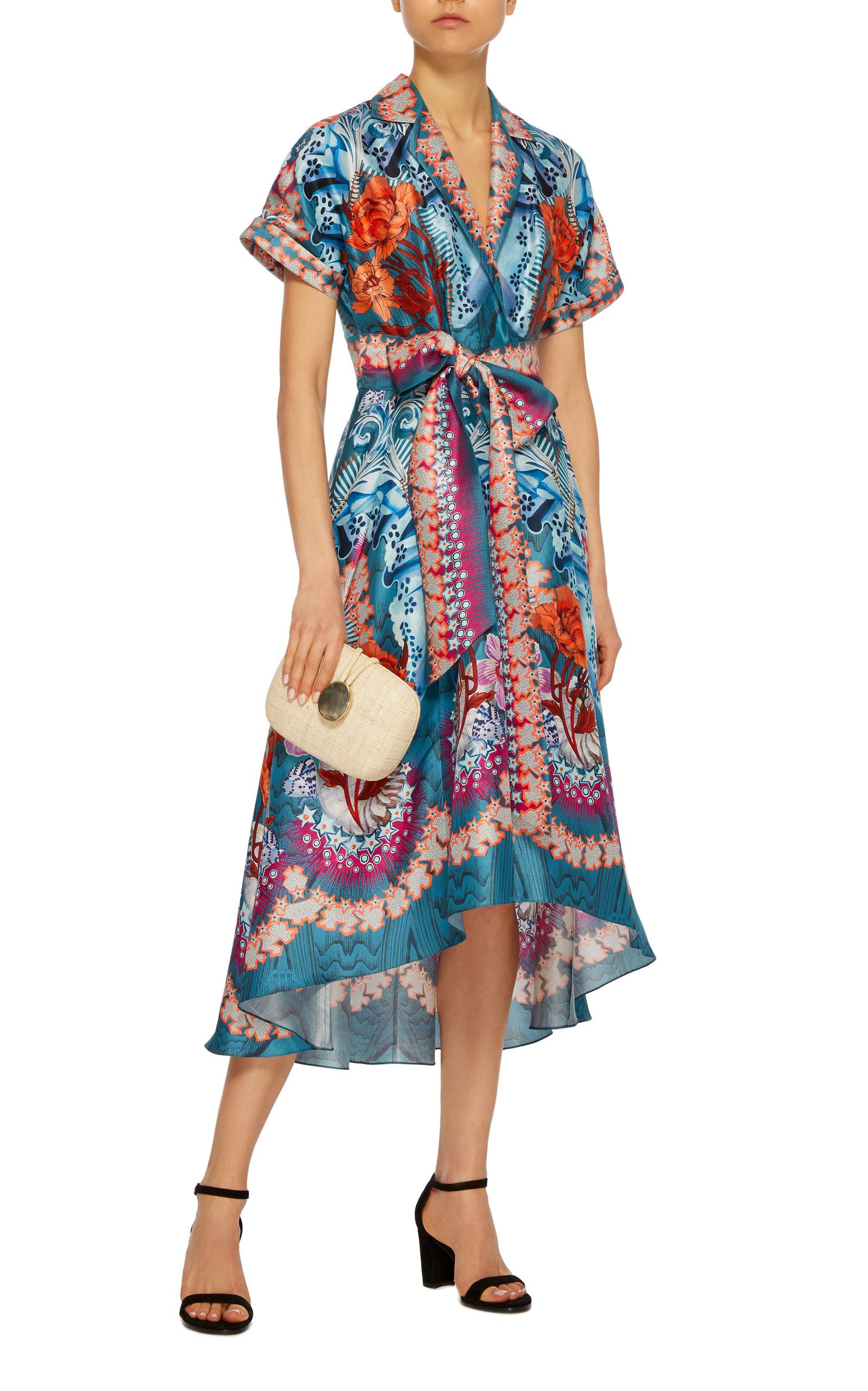 Pipe Dream Belt Silk Dress By Temperley London Moda Operandi
