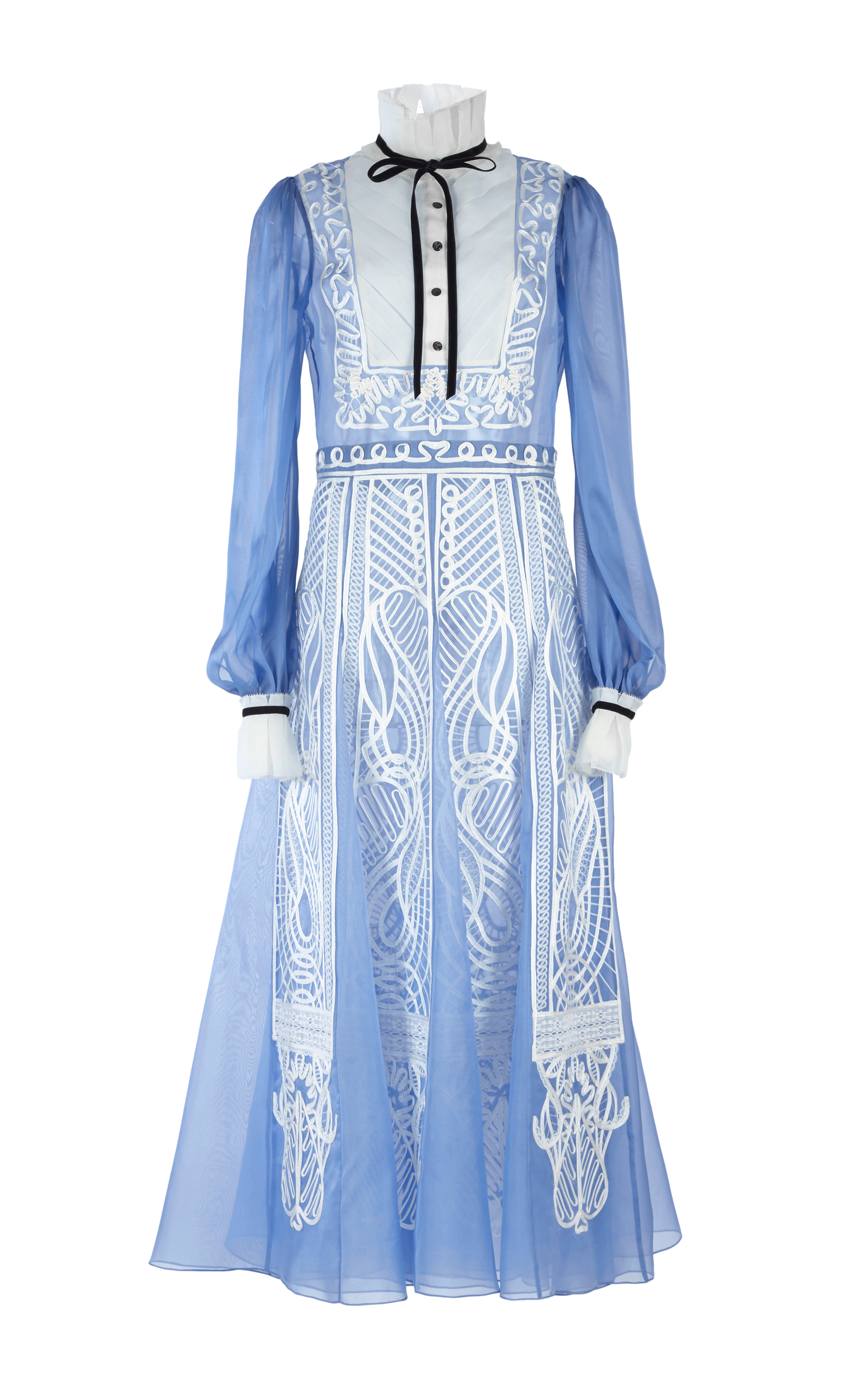Imperium Embroidered Dress By Temperley London Moda Operandi