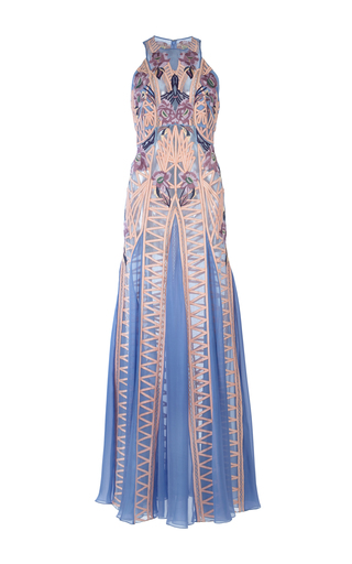 Medium temperley london multi empress embroidered dress