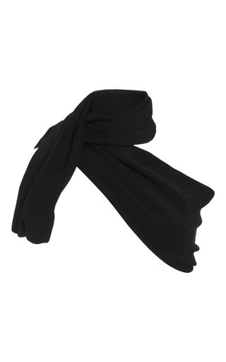 Medium proenza schouler black asymmetrical wrap scarf